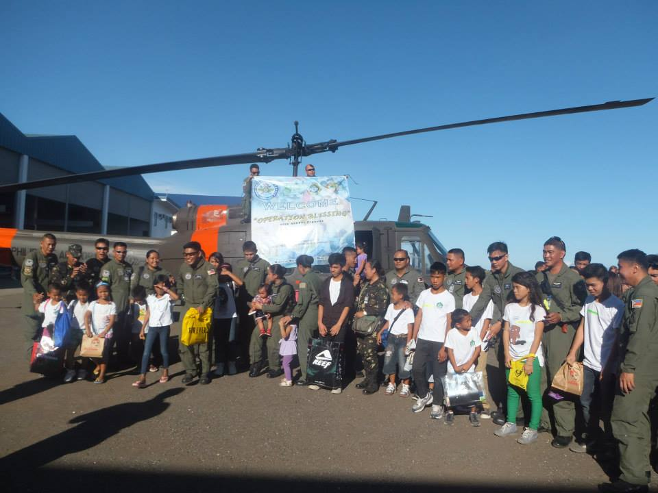Philippine Airforce Christmas Outreach with ASFFPI kids